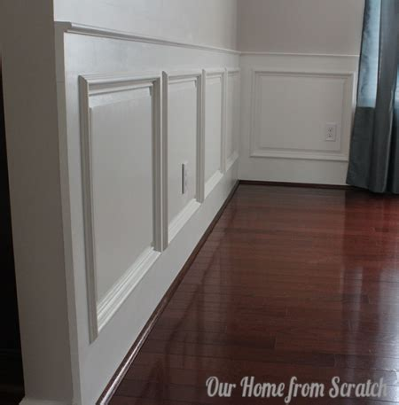 Wainscoting Frames For Wall by Diy Wainscoting Tutorial You Are Kidding Me Easy