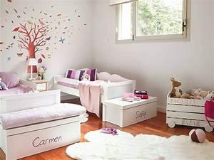 Chambre Fille 4 Ans : d coration chambre pour 2 filles ~ Teatrodelosmanantiales.com Idées de Décoration