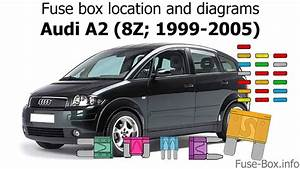 Fuse Box Location And Diagrams  Audi A2  8z  1999-2005