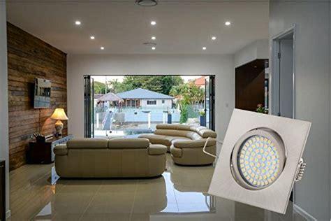 LED Einbaustrahler eckig aus Edelstahl    Vergleiche NEU!