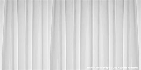 White Chiffon Drape 6.5m H X 3.2m W Baby Pink Bedroom Curtains Brown Asda For Blue Where Can I Find Nice Kitchen Art Deco Style Ready Made Eyelet Blackout 90 X 54 Easy Window To Make