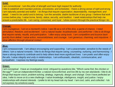 true color test best 25 true colors personality test ideas on