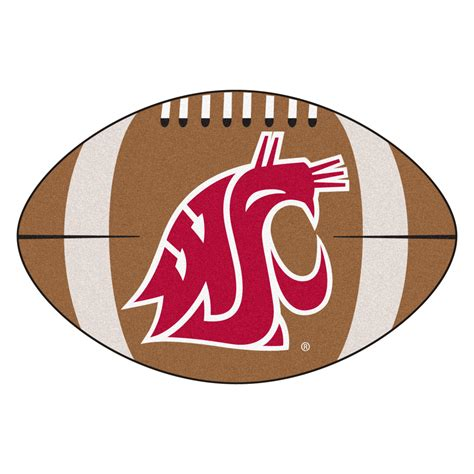 Soccer Area Rug by Washington State University Ball Shaped Area Rugs