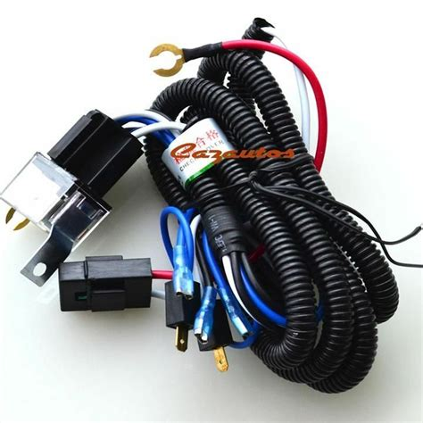 universal car truck snail horn wire harness 1 7m relay