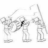 Coloring Parade Pages Fun Own Create Marching Books Parents sketch template