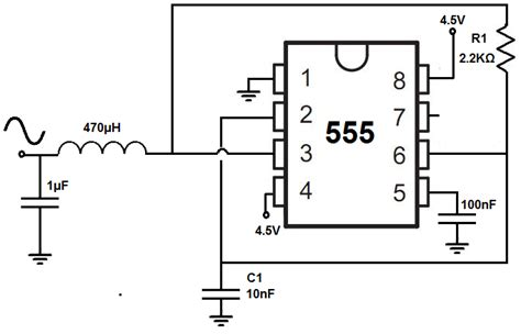 Amplifier For Sine Wave From Timer