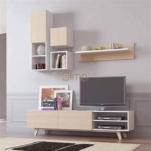 meuble tv composition tv design scandinave maxi With composition meuble tv design