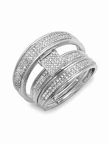 cheap trio wedding ring sets wedding ideas and wedding With cheap trio wedding ring sets