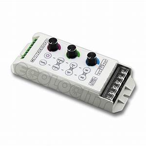 Rgb Led Light Dimmer  Color Control System With 3 Knob Dimmers