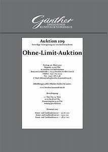 Mahnung Ohne Rechnung Bgb : varia katalog zur auktion 109 by kunstauktionshaus guenther issuu ~ Themetempest.com Abrechnung