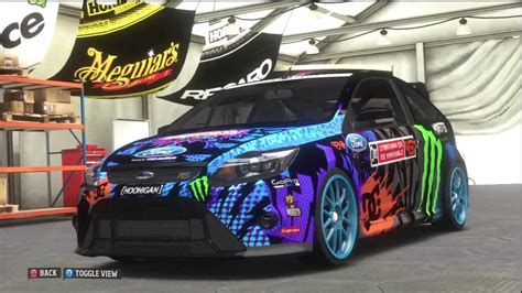 ken block ford focus  forza horizon youtube
