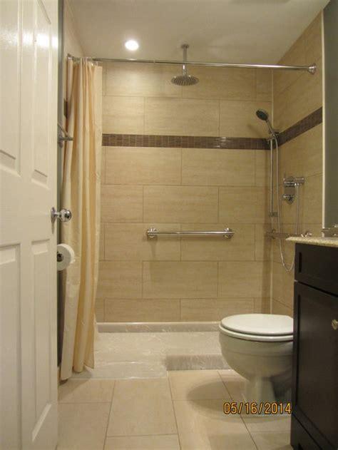 wheelchair accessible shower houzz
