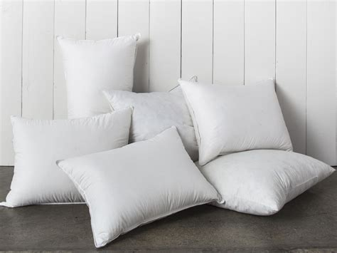 With Pillows by Pillow Inserts 750 Fill Power In Soft Medium