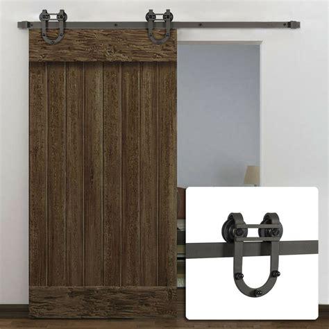 Vintage Barn Door Hardware 6ft european modern antique horseshoe track barn wood