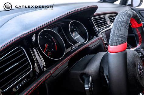 golf gti gets fresh spin on tartan interior from carlex autoevolution