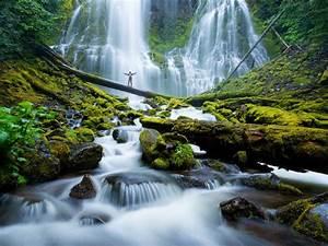 Proxy, Falls, Mckenzie, River, Waterfalls, Eugene, Cascades