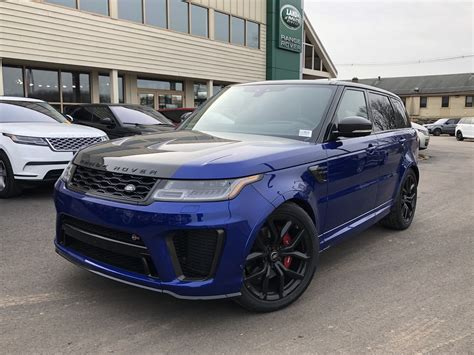 2019 Land Rover Svr by New 2019 Land Rover Range Rover Sport Svr 4 Door In