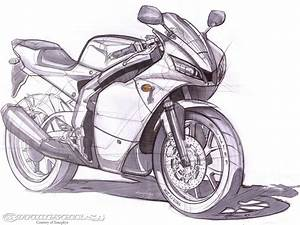 Free coloring pages of how to draw a street bike