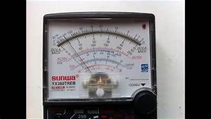 How To Use Analog Multimeter  Amp