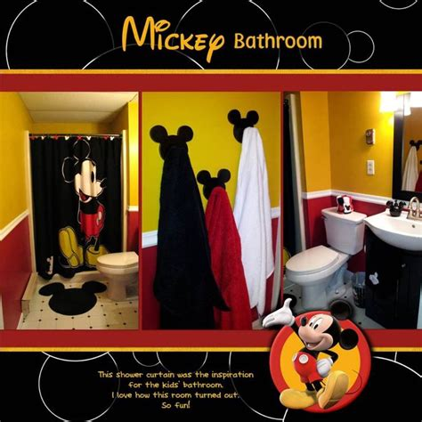 mickey mouse bathroom decor 17 best ideas about mickey mouse bathroom on