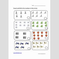 Kidz Worksheets Preschool Counting Worksheet5