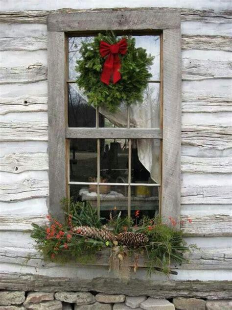 Weihnachtsdeko Fenster Sprühen by 25 Rustic Window Decorations Ideas Decoration
