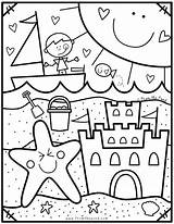 Coloring Pond Club Pages Summer Beach Preschool Sheets Fromthepond Printable Coloriage Colouring Enregistree Depuis Bricolage sketch template