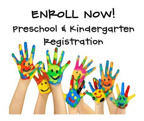 register for preschool amp kindergarten a goetz 770   pre & k registration logo