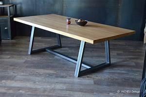 Pied De Table Basse Metal Industriel : meuble de style industriel table basse meuble tv ~ Teatrodelosmanantiales.com Idées de Décoration