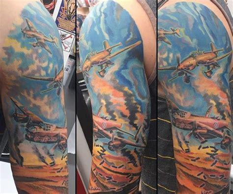 ww tattoos  men memorial military ink design ideas