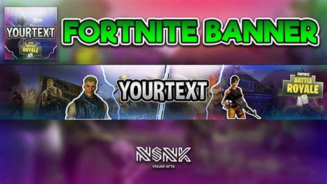 that thing it scares me template free speed art fortnite banner and icon for youtbe psd