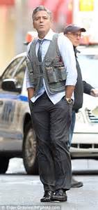 George Clooney dons suicide vest with Jack O'Connell for ...