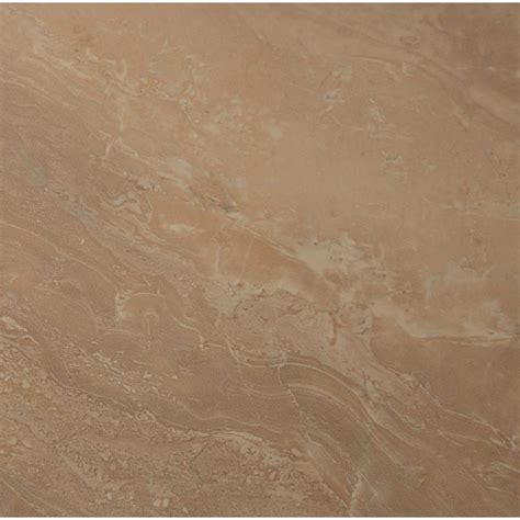 polished porcelain tile ms international calacatta ivory 24 in x 24 in glazed polished porcelain floor and wall tile