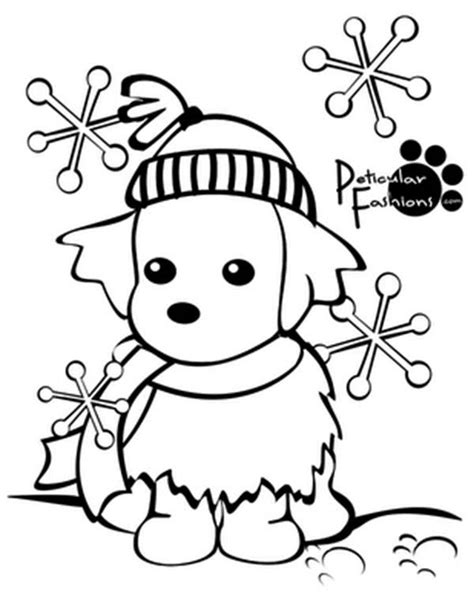 printable winter coloring pages coloringstar