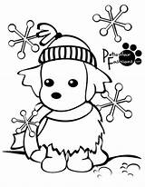 Winter Coloring Nature Season Printable Kb Drawing sketch template