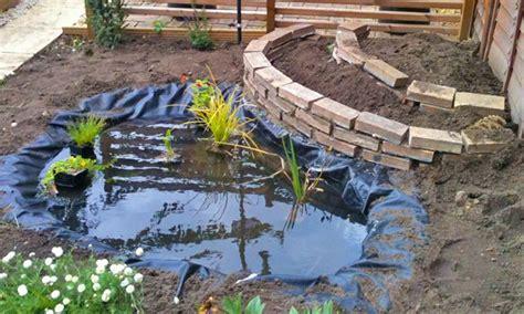 Build Backyard Pond by How To Build A Garden Pond