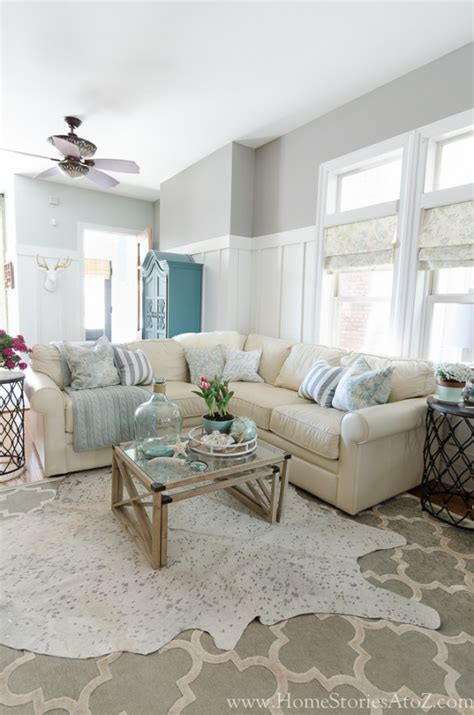 Gray Sectional Living Room Ideas by Dorian Gray Family Room Reveal With Gallery Wall Home