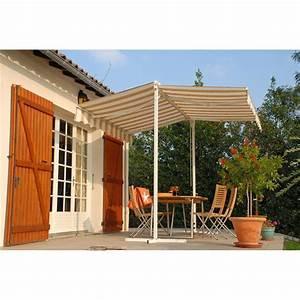 Store Banne Sur Pied : residence store banne sur pieds 300 x 300 cm achat ~ Premium-room.com Idées de Décoration