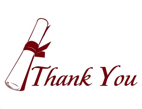 thank you clipart thank you diploma graduation thank you by cardsdirect