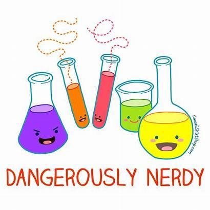 Chemistry Science Clipart Kawaii Engineer Cartoon Unisex
