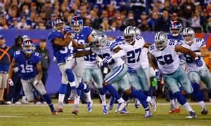 Dallas Cowboys vs Giants 2016