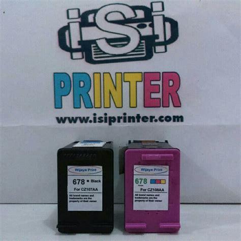 Hp 678 Tinta Cartridge Hitam cartridge hp 678 tinta black compatible hitam ud