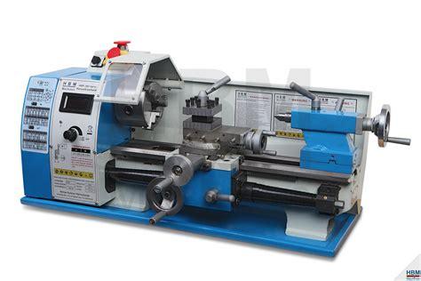 HBM 180 Vario Metaaldraaibank  HBM Machines