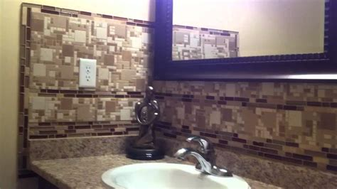how to install glass mosaic tile backsplash in kitchen diy install glass tile backsplash diy projects