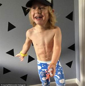 Fitspiration toddler Dash from Instagram who already has a ...