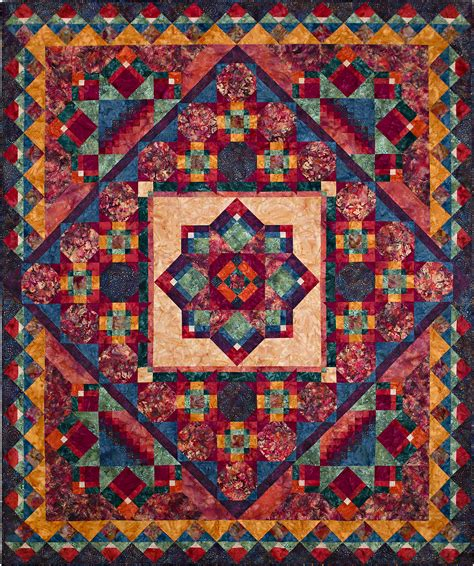 quilting at the nature s jewels block of the month quilt laurie shifrin