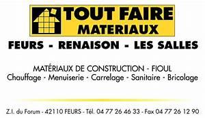 Catalogue Tout Faire Materiaux : nos partenaires association pour la sauvegarde du ~ Dailycaller-alerts.com Idées de Décoration