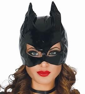 Catwoman Masker Catwoman Hoofdkap Kleur Zwart Materiaal