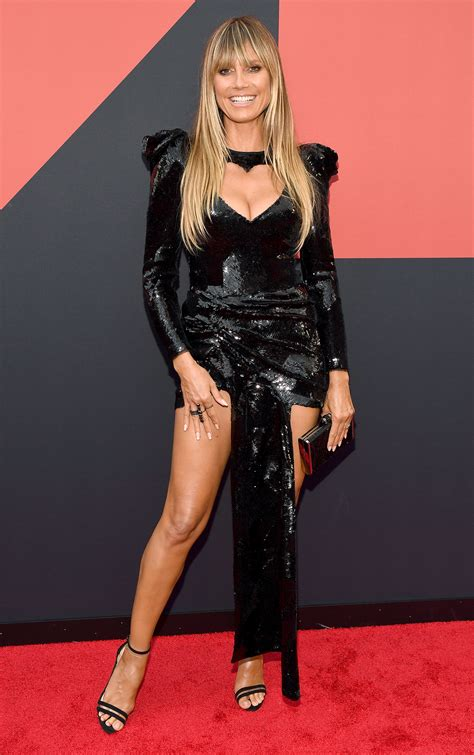Mtv Vmas Heidi Klum First Red Carpet Since Wedding