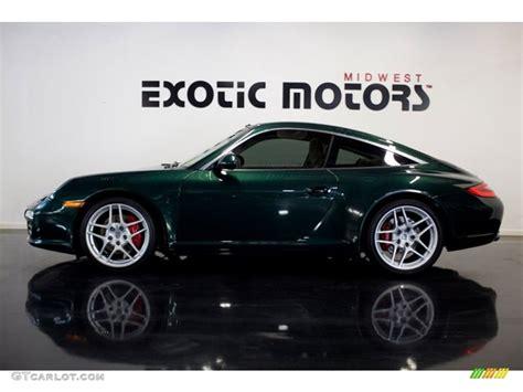 porsche racing colors 2009 porsche racing green metallic porsche 911 targa 4s